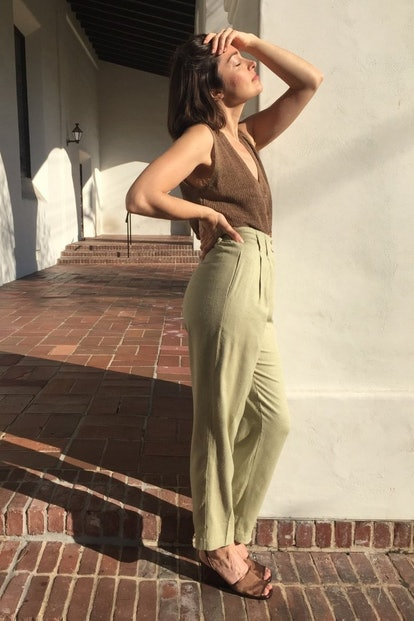 Sage Trousers