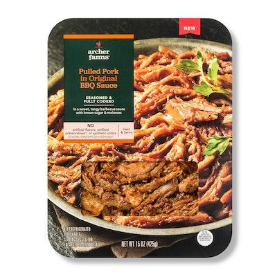 Archer Farms Pulled Pork In Original BBQ Sauce