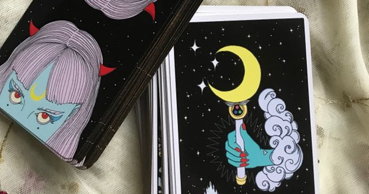 Moon Power Tarot Deck