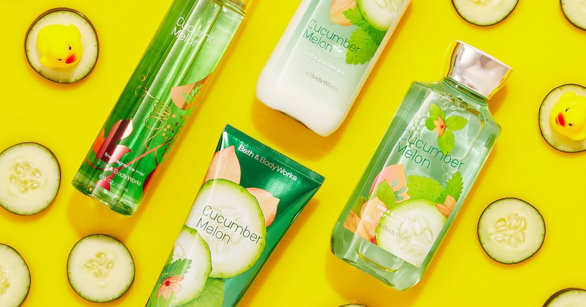 Why Bath & Body Works' Cucumber Melon Is Probably Never Going Away