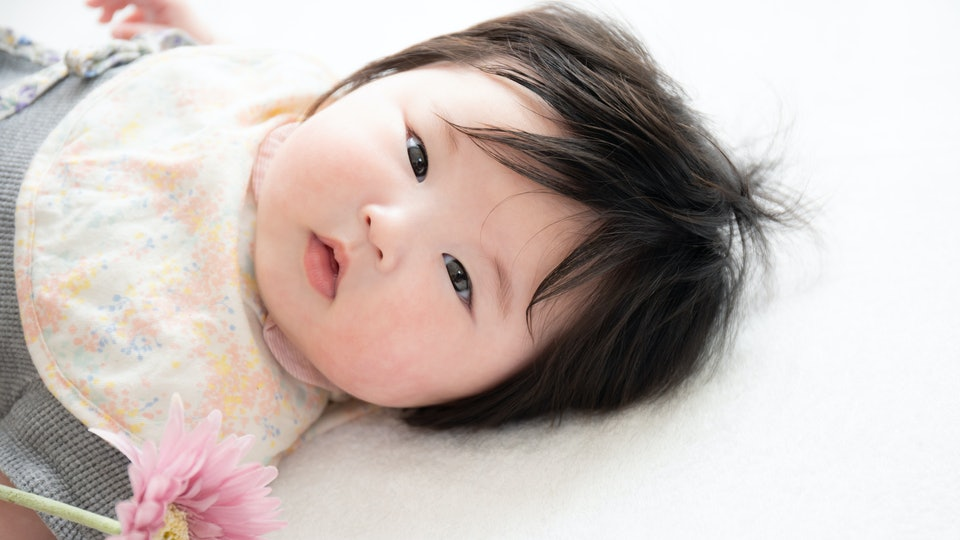 Baby's appetite directly impacts the sweet chubbiness of their cheeks, experts say.