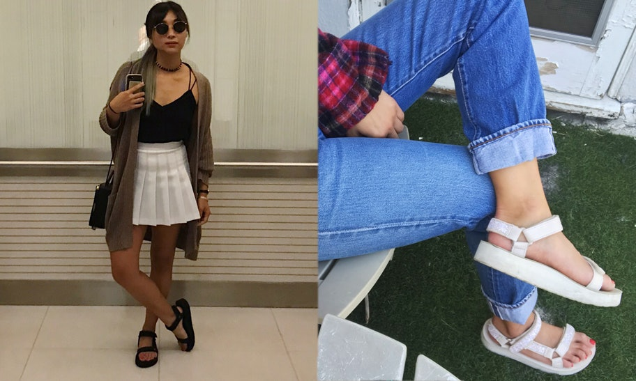What To Wear With Tevas To Make Them