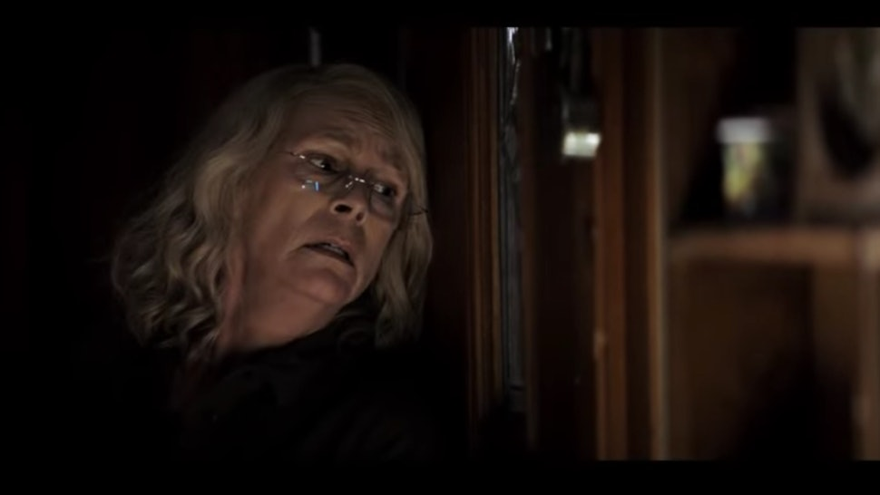 Halloween 2018 Michael Myers Face.The Halloween 2018 Trailer Focuses On Laurie S Big Plan For