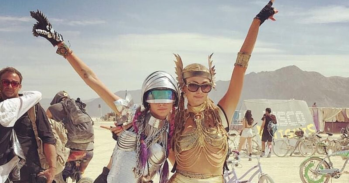 These Burning Man Outfits Prove The Playa Is The Most Sartorially Magical Place On Earth