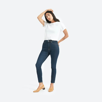 Authentic Stretch High-Rise Skinny Ankle Jean