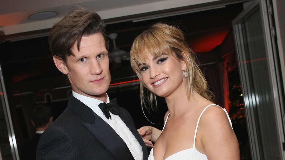 Image result for lily james matt smith 2019