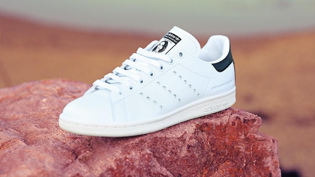 The Adidas x Stella McCartney Stan Smith Is Vegan   So Chic 14f73c92e04a9