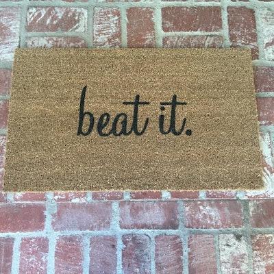 """""""Beat It"""" Outdoor Mat"""