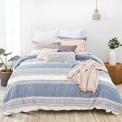 Splendid Tuscan Stripe Comforter Set, King
