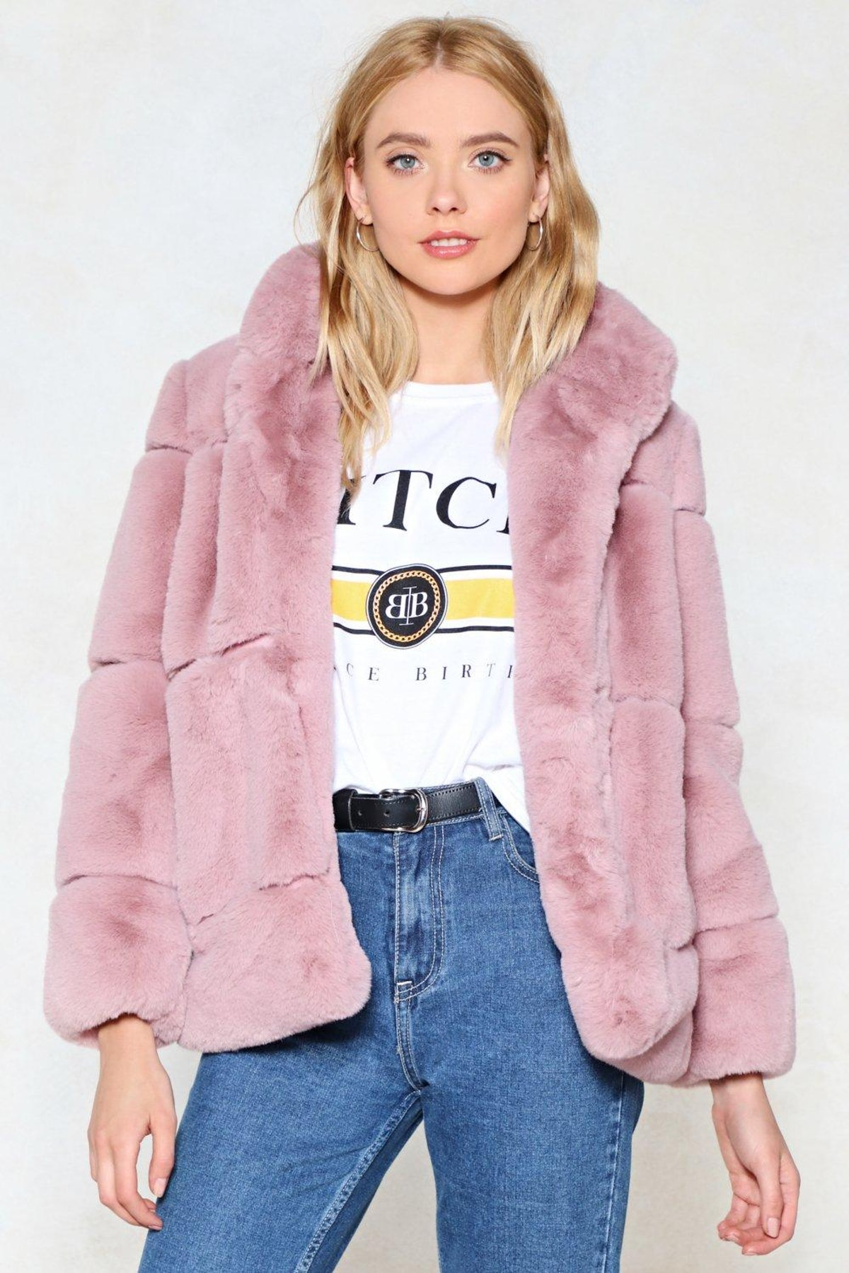 Fur Your Consideration Faux Fur Coat