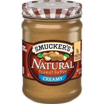 Smucker's Natural Peanut Butter Creamy