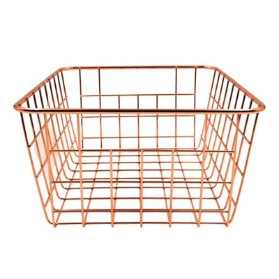 Mainstays Rectangular Wire Basket 6 pack - Multiple Colors