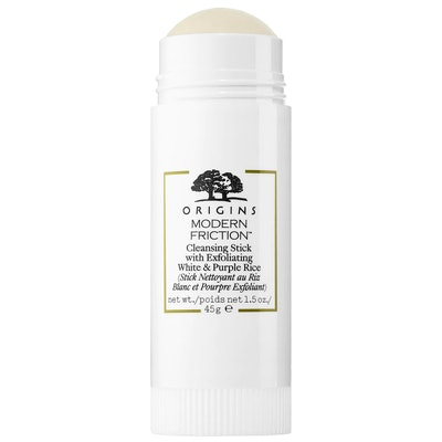 Modern Friction Cleansing Stick with Exfoliating White & Purple Rice