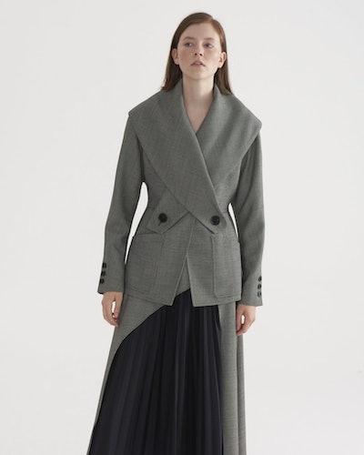 Crosses Shawl Collar Jacket