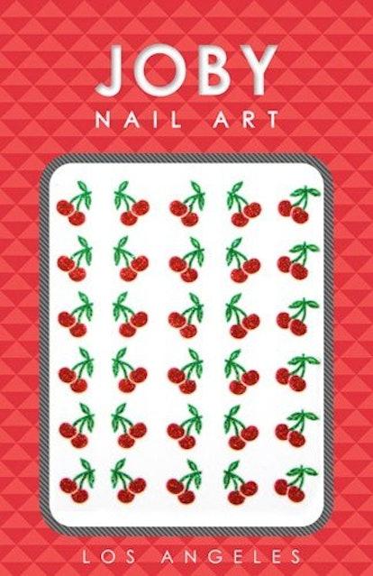 Nail Art - Glitter Collection - Cherries