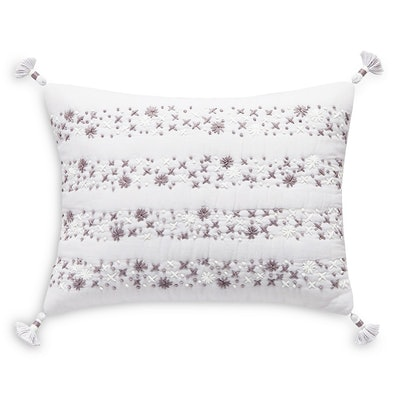 Splendid Embroidered Decorative Pillow