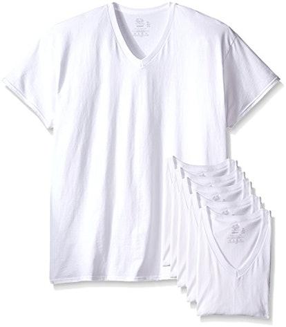 Fruit Of The Loom Men's V-Neck T-Shirt (6-Pack)