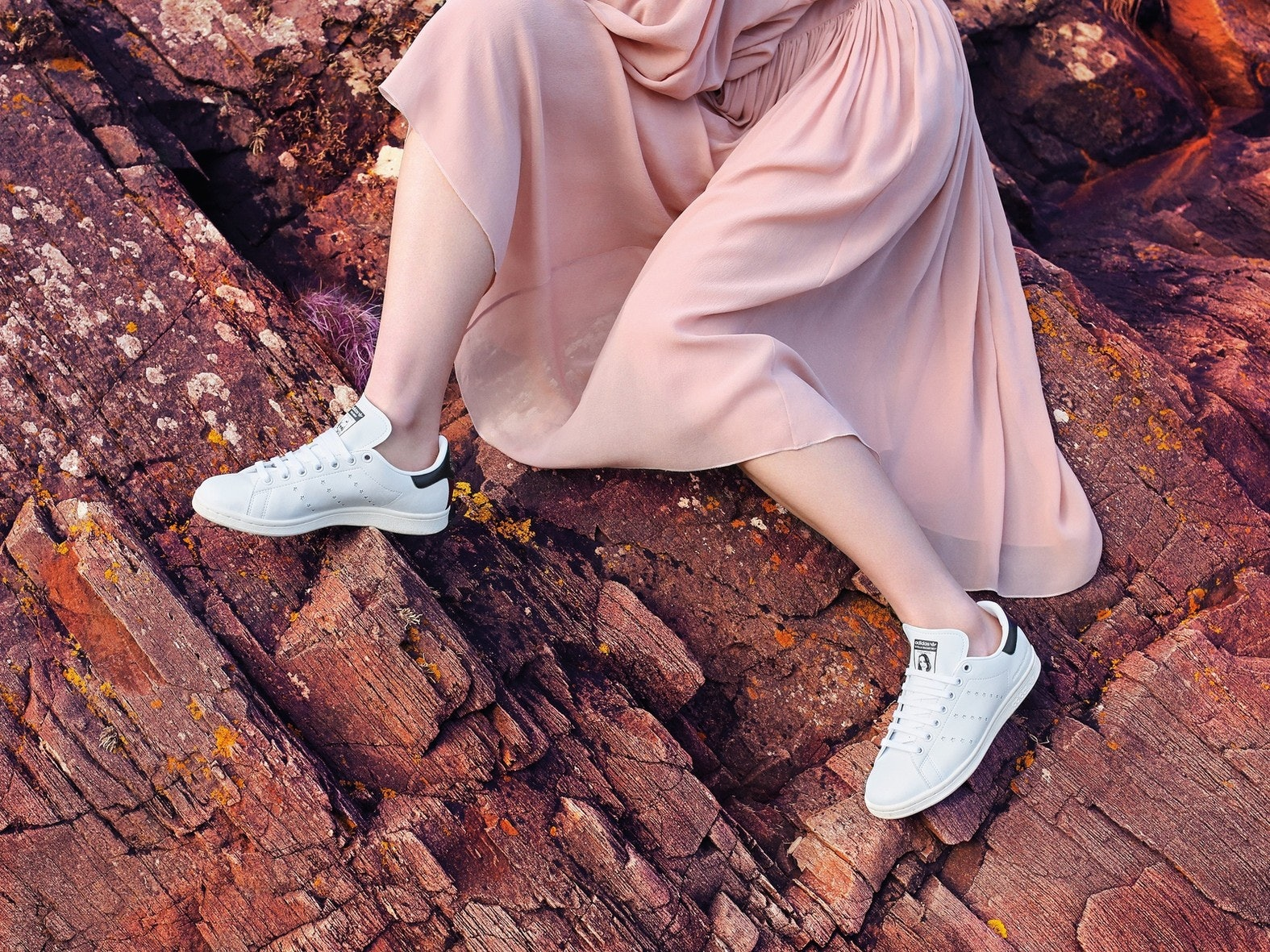 the latest f01fa 68d57 The Adidas x Stella McCartney Stan Smith Is Vegan & So Chic