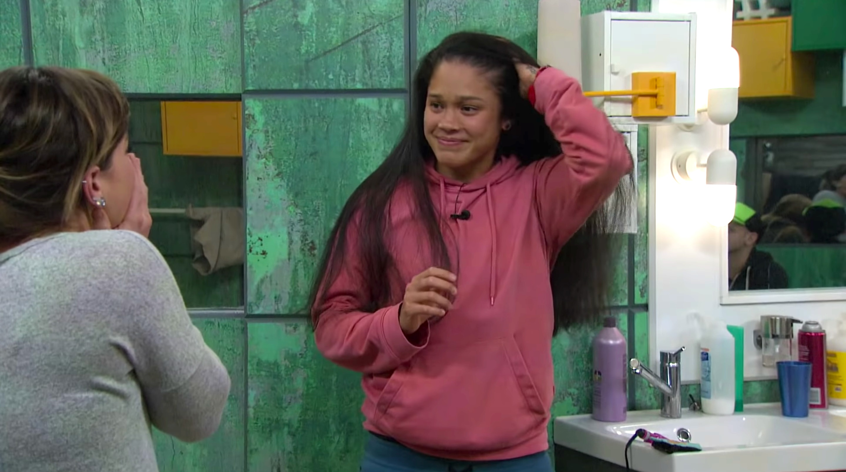 See Kaycee's Hair Down On 'Big Brother' Thanks To The 24/7