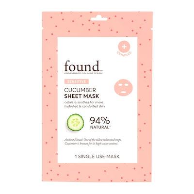 FOUND SENSITIVE Cucumber Sheet Mask