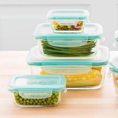 OXO Good Grips 8-Piece Rectangular Food Storage Set
