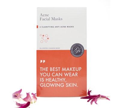 Grace & Stella Acne Facial Sheet Masks — 6 Masks