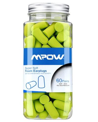 Mpow Foam Earplugs (60 Pairs)