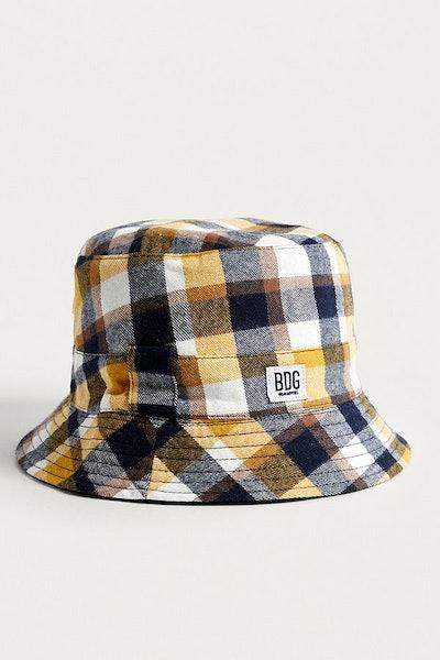 BDG Reversible Check Bucket Hat