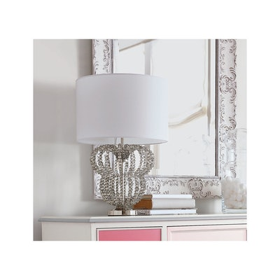 Minnie Mouse Beaded Accent Lamp By Ethan Allen