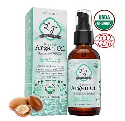 LT Organics 100 Percent Pure Moroccan Argan Oil