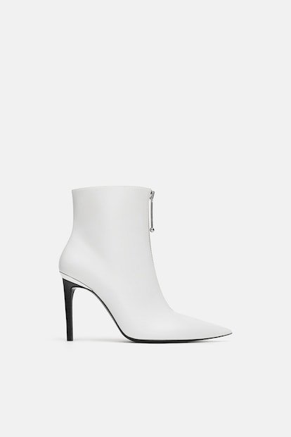 Zara Zippered Ankle Boots