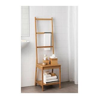 RÅGRUND Chair With Towel Rack
