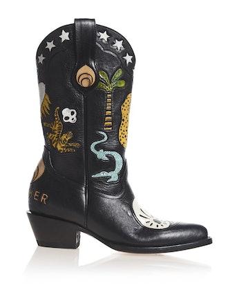 Ying Yang Doodle Boot