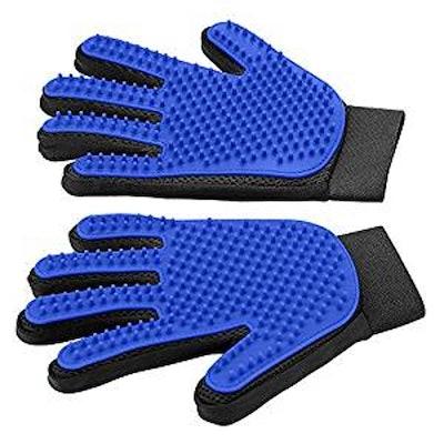DELOMO, Pet Grooming Gloves