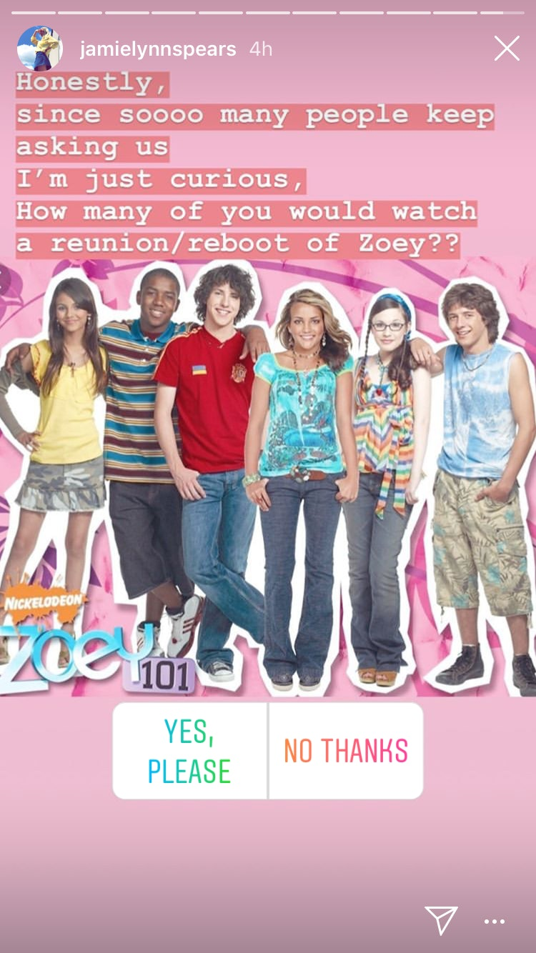 Zoey 101' Didn't End Because Of Jamie Lynn Spears' Pregnancy