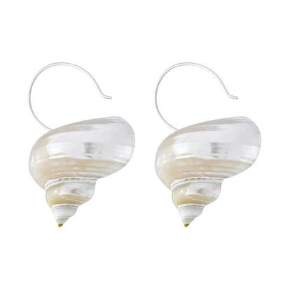 Turbo Shell Earrings
