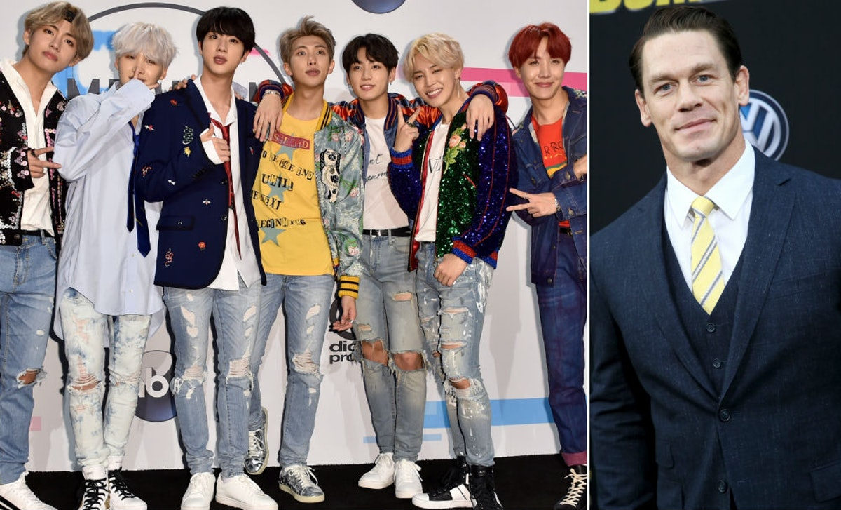 Are BTS & John Cena Friends? He Can't Stop Gushing About The K-Pop Stars