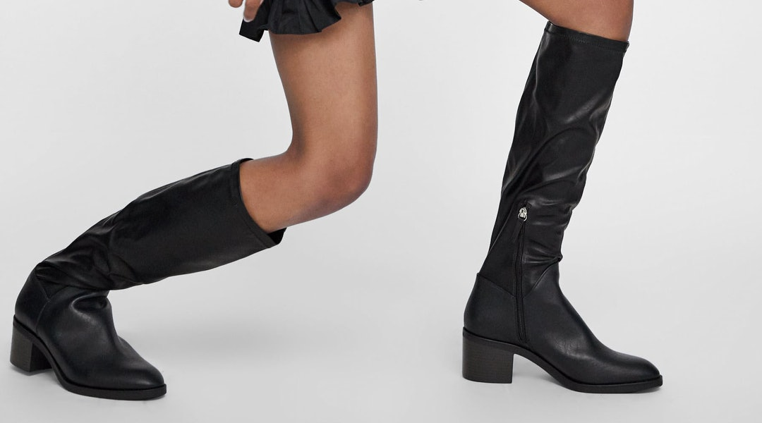 6612a2f1fd0 12 Boots Under $50 In Zara's Sale, Including The Perfect Snakeskin Pair