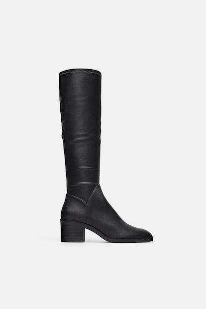 Zara High Heeled Boots