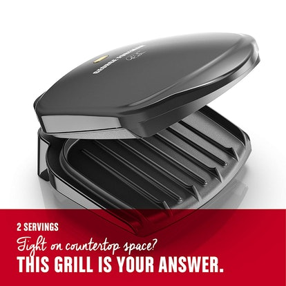 George Foreman Electric Indoor Grill and Panini Press