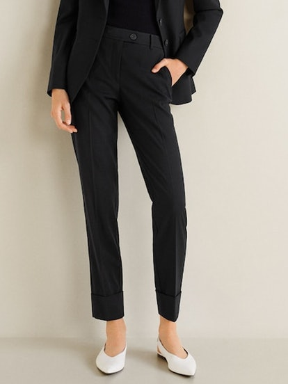 Straight Suit Trousers