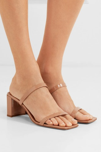 Tanya Patent-Leather Mules
