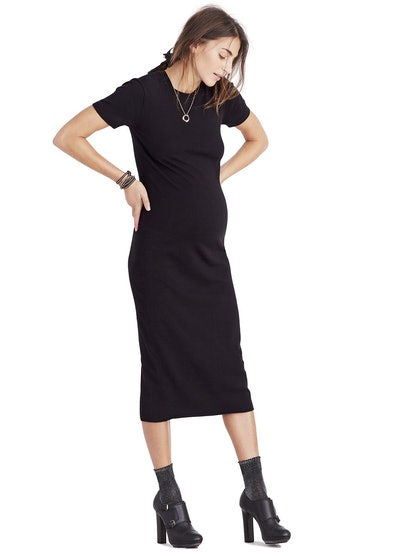 HATCH Collection Eliza Dress in Black
