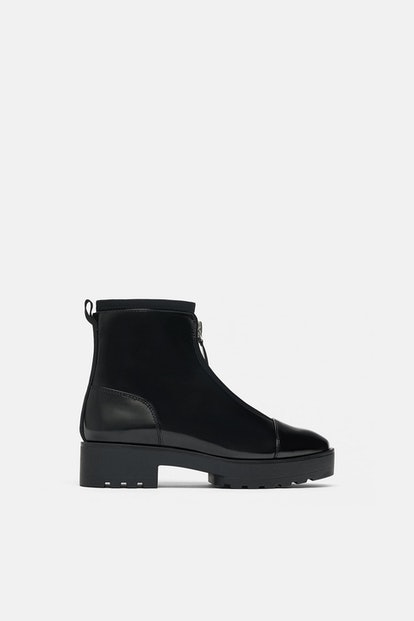 Zara Ankle Boots with Lug Soles