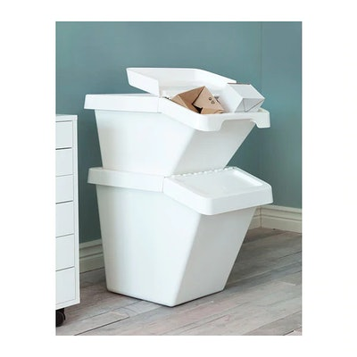 SORTERA Recycling Bin With Lid