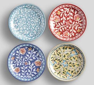 Ava Salad Plates, Set of Four