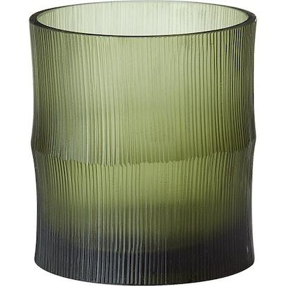 Bamboo Tea Light Candle Holder