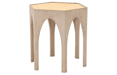 Hendrik Side Table, Brushed Gold