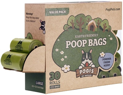 Pogi's Pet Supplies, Pogi's Poop Bags  (30 Rolls)
