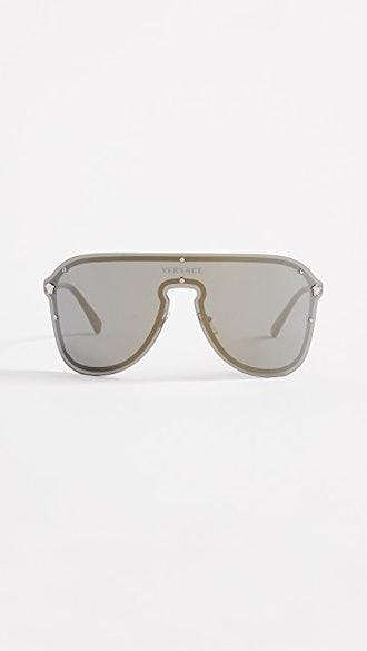 Oversized Shield Sunglasses